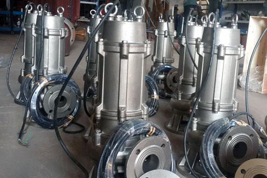 Bơm chìm nước thải WQP 100WQP100-30-18.5